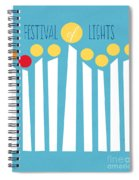 Festival Of Lights Spiral Notebook