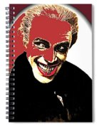Film Homage Conrad Veidt The Man Who Laughs 1928-2013 Spiral Notebook