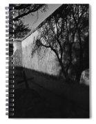 Film Noir Kim Novak Vertigo 1958 Graveyard Tumacacori Mission Tumacacori Arizona 1979-2008 Spiral Notebook