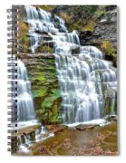 Finger Lakes Waterfall Spiral Notebook