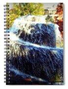 Finlay Park Fountain 3 Spiral Notebook