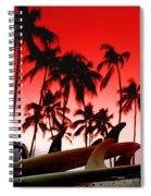 Fins N' Palms Spiral Notebook