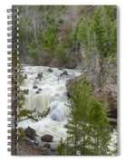 Firehole Falls Spiral Notebook
