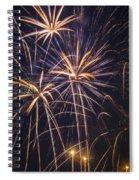 Fireworks Celebration  Spiral Notebook
