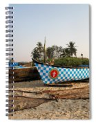 Fishing Boats Spiral Notebook