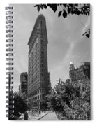 Flatiron Building Manhattan  Spiral Notebook