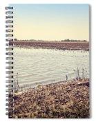 Flooded Farmland Spiral Notebook