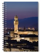 Florence At Sunset Spiral Notebook