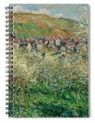 Flowering Plum Trees Spiral Notebook