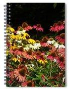 Flowers Gone Wild Spiral Notebook