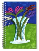 Flowers In A Vase Spiral Notebook
