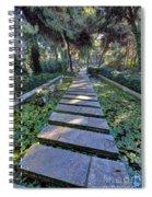 Footpath Spiral Notebook