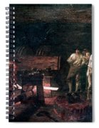Foundry, 18th Century Spiral Notebook