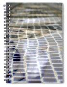Fountain Water Spiral Notebook