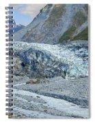 Fox Glacier Spiral Notebook