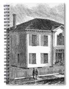 Freedmen School, 1867 Spiral Notebook