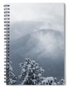Fresh Snow Spiral Notebook