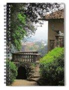 Garden View Spiral Notebook