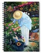 Gardener's Eden Spiral Notebook