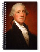 George Washington By Gilbert Stuart -- 2 Spiral Notebook