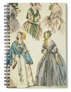 Godey's Lady's Book, 1842 Spiral Notebook