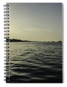 Golden Sunset Spiral Notebook