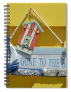 Gone To The Beach Spiral Notebook