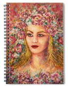 Good Fortune Goddess Spiral Notebook