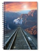 Grand Canyon Collage Spiral Notebook