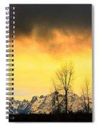 Grand Tetons Wyoming Spiral Notebook