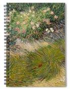 Grass And Butterflies Spiral Notebook