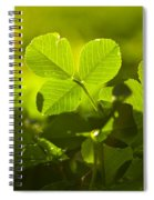 Greenery Spiral Notebook