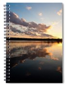 Greenlake Sunset Spiral Notebook