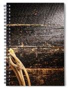 Grunge Lasso Spiral Notebook