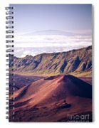 Haleakala Sunrise On The Summit Maui Hawaii - Kalahaku Overlook Spiral Notebook