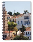 Halki Island Greece Spiral Notebook