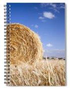 Hay Bales Spiral Notebook