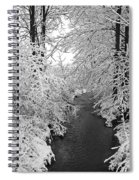 Heavy With Snow Spiral Notebook