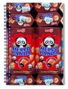 Hello Panda Biscuits Spiral Notebook