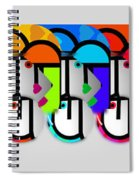Herd Spiral Notebook