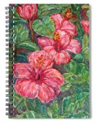 Hibiscus Spiral Notebook