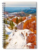 High Angle View Of Rock Formations Spiral Notebook