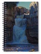High Force Waterfall Spiral Notebook
