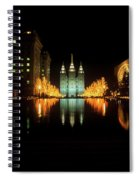Historic Temple And Square In Salt Lake Spiral Notebook