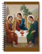 Holy Trinity - Sanctae Trinitatis Spiral Notebook