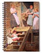 Homer's Sparrow Hall Spiral Notebook