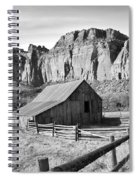 Horse Barn In Fruita Utah Spiral Notebook