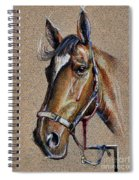 Horse Face - Drawing  Spiral Notebook