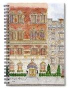 Hotel Washington Square Spiral Notebook