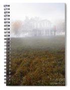 House In Fog Spiral Notebook